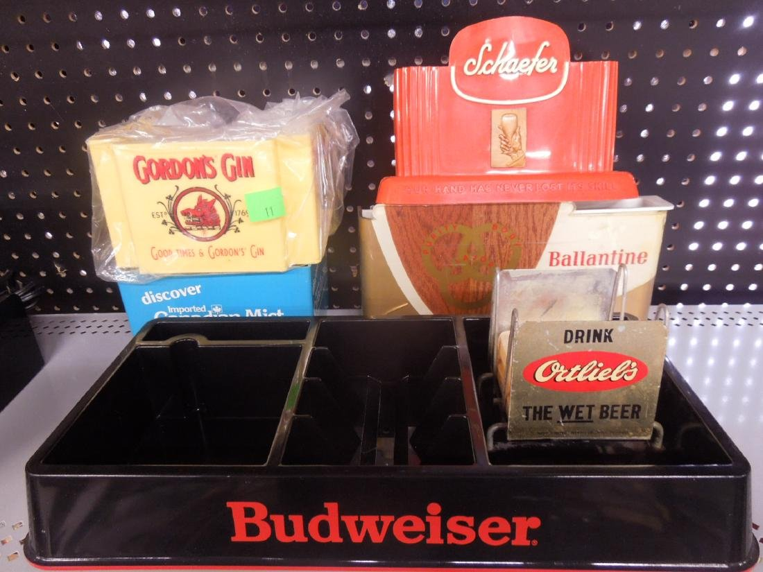 Vintage Beer & Liquor Bar Items