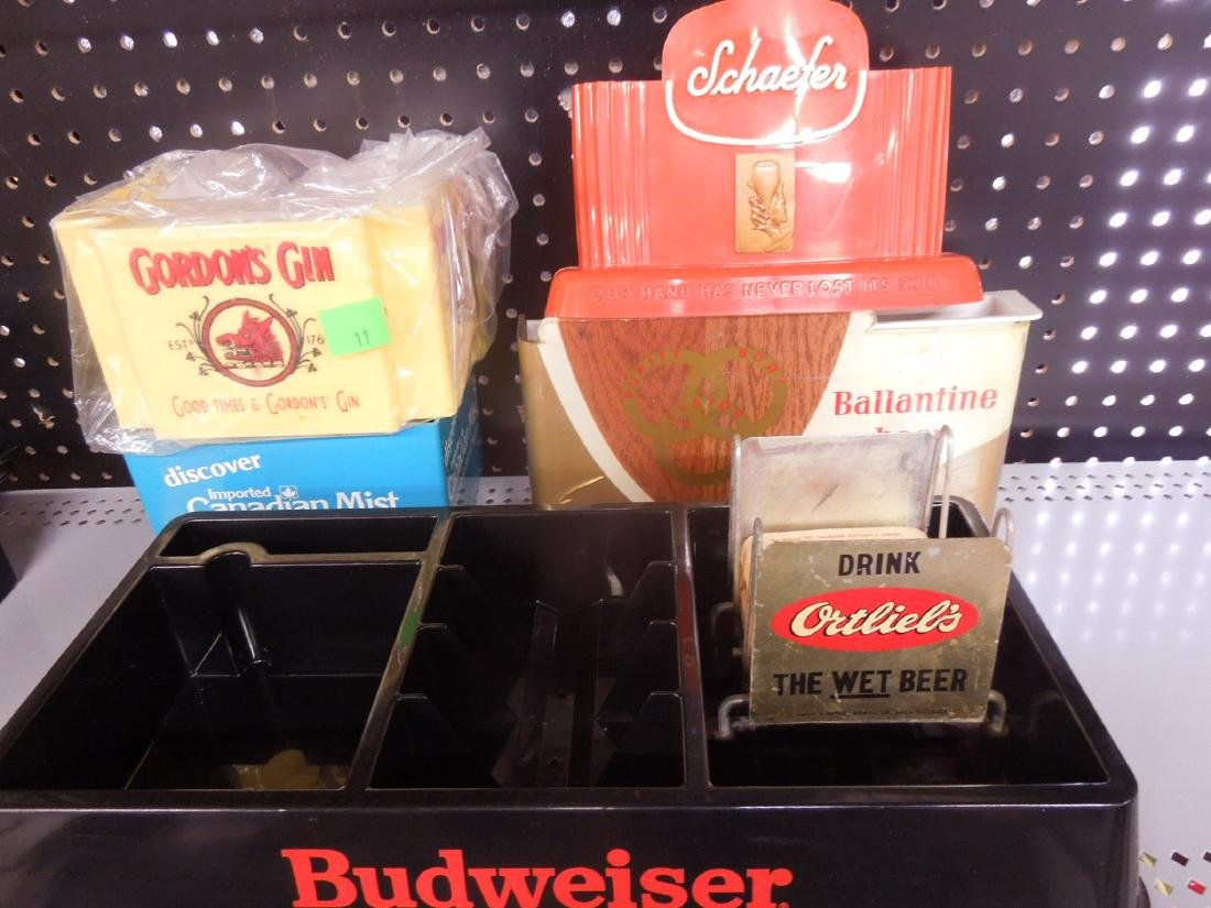 Vintage Beer & Liquor Bar Items - 5