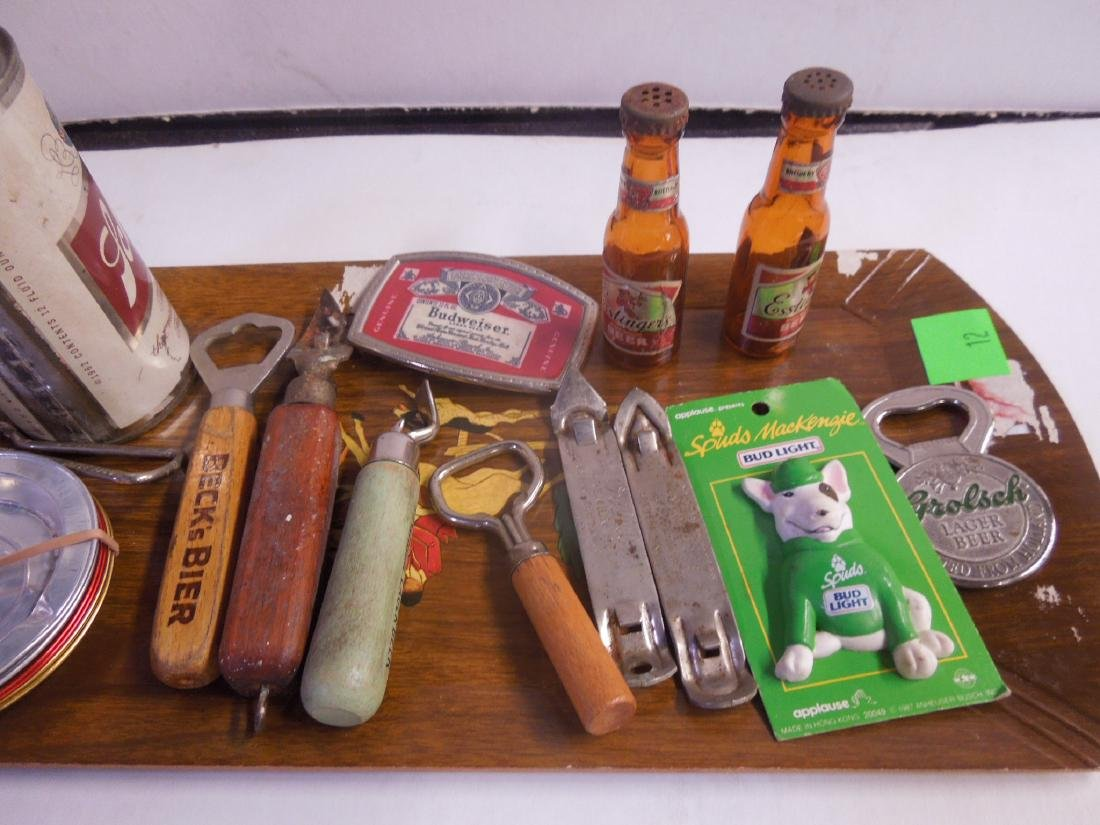 Assorted Beer Advertising Items - 3