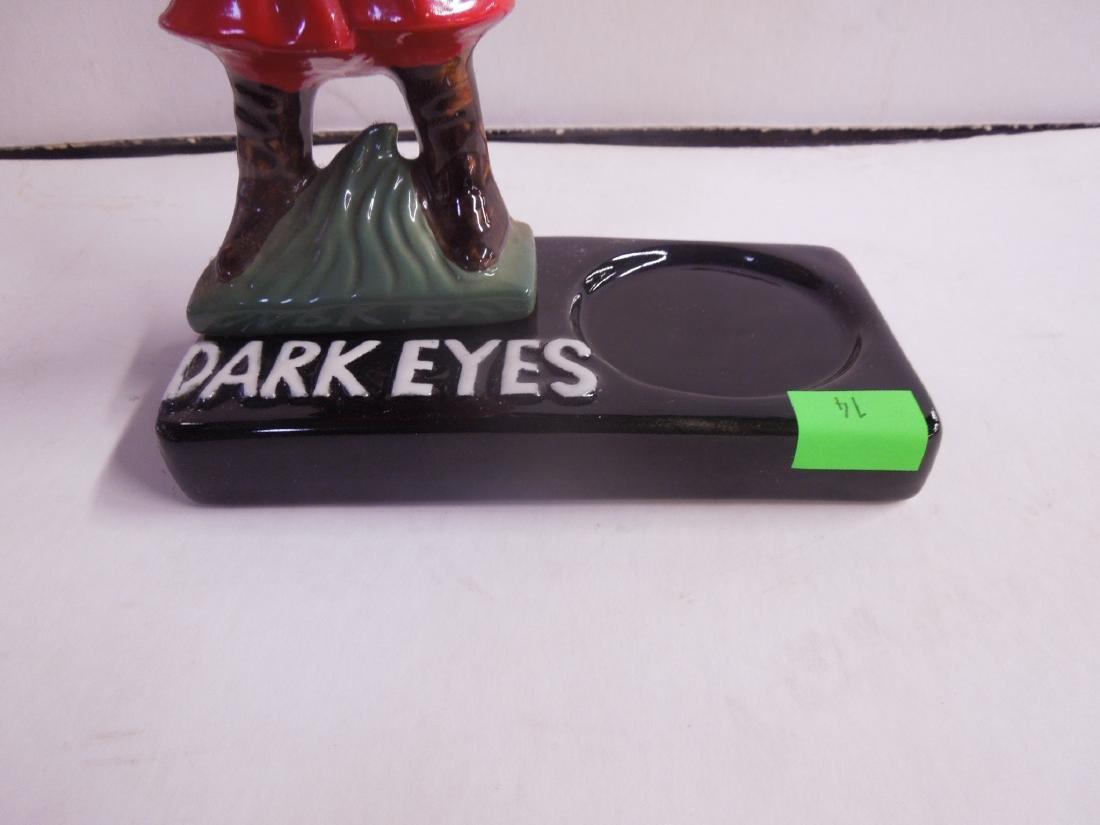 Vintage Dark Eyes Vodka Bar Bottle Display - 2