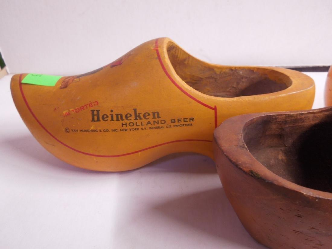 3 Heineken Dutch Wood Shoe Displays - 5