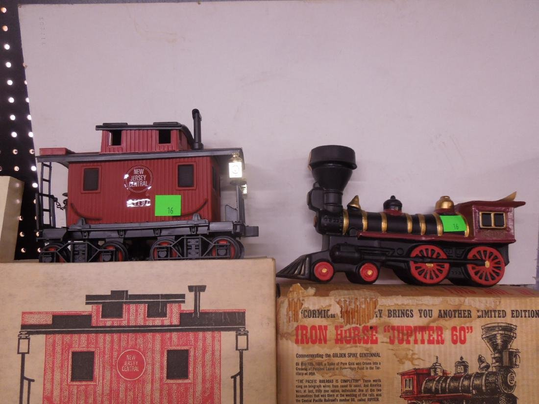 7 Railroad & Other Decanters - 4