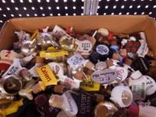 Lot Vintage Plastic Liquor Bottle Pourers