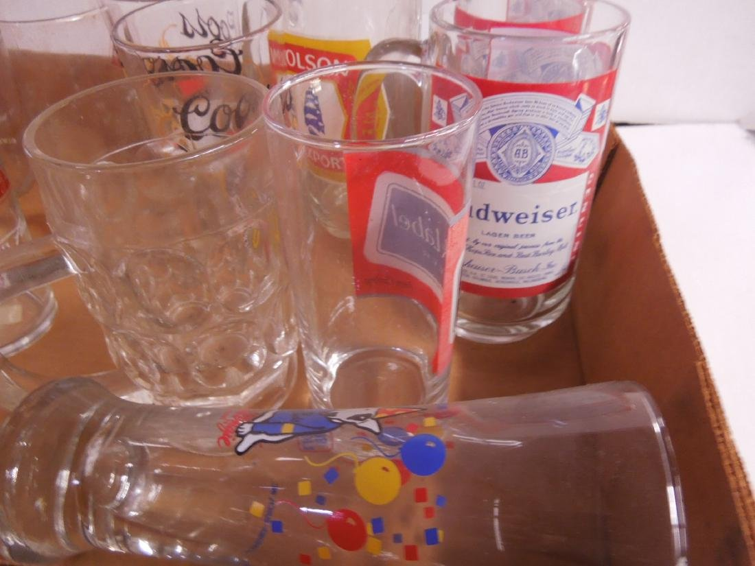 Lot Glass Beer Glasses & Mugs - 2