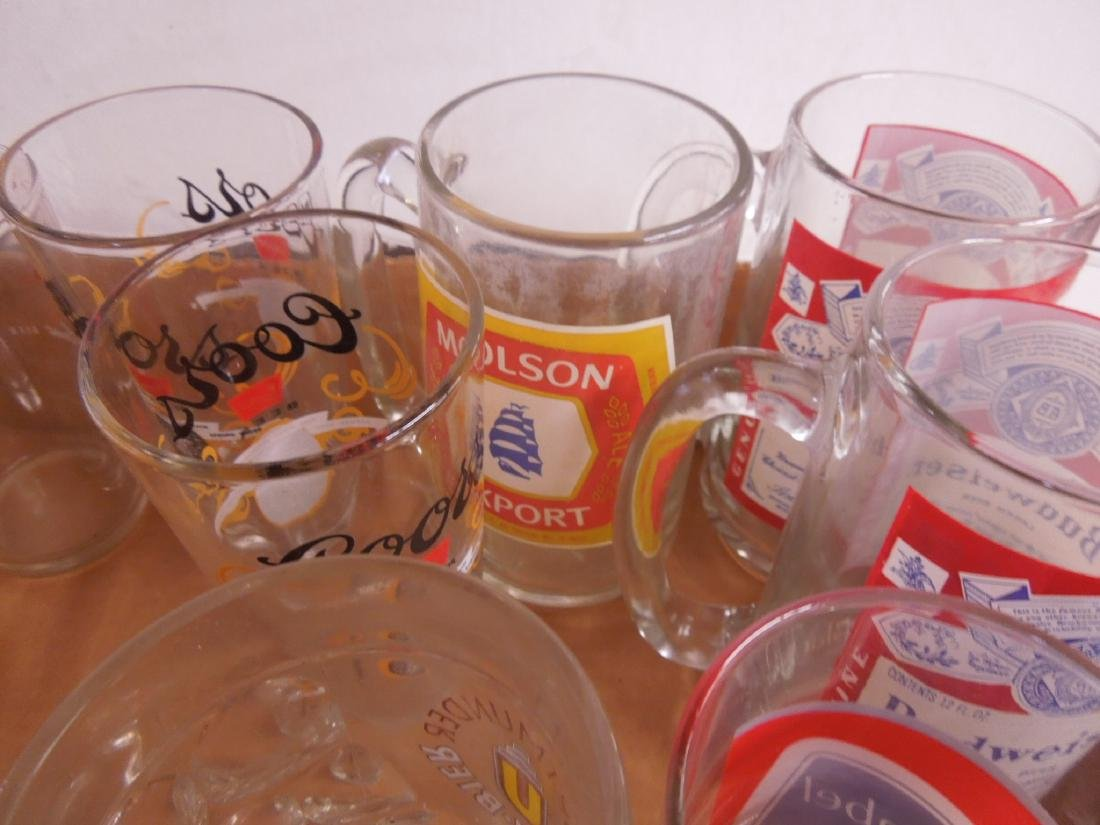 Lot Glass Beer Glasses & Mugs - 3