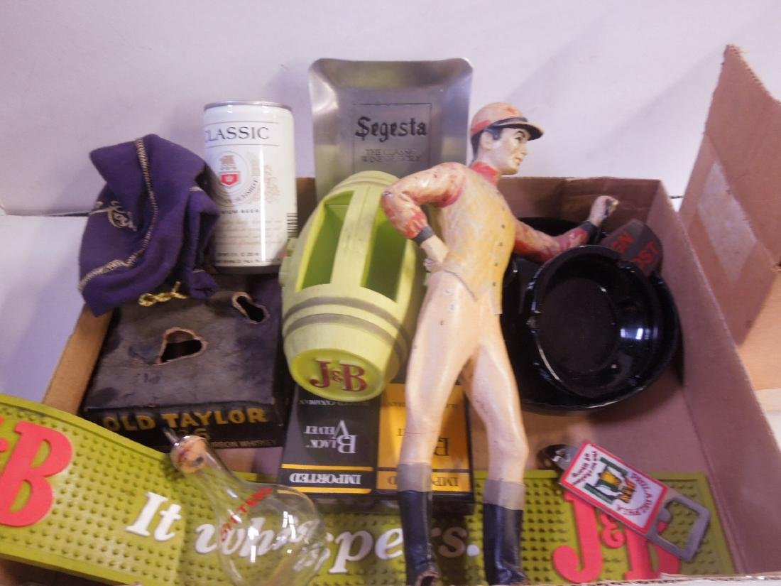 Assorted Bar Accessory Collectibles