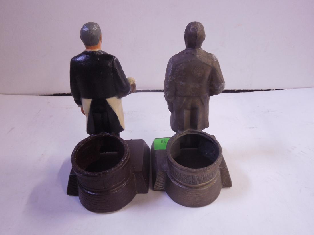 2 Schmidt's Metal Bottle Display Figures - 5