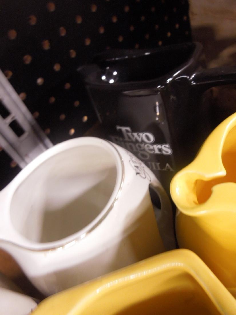 10 Porcelain Liquor Advertising Pitchers - 4