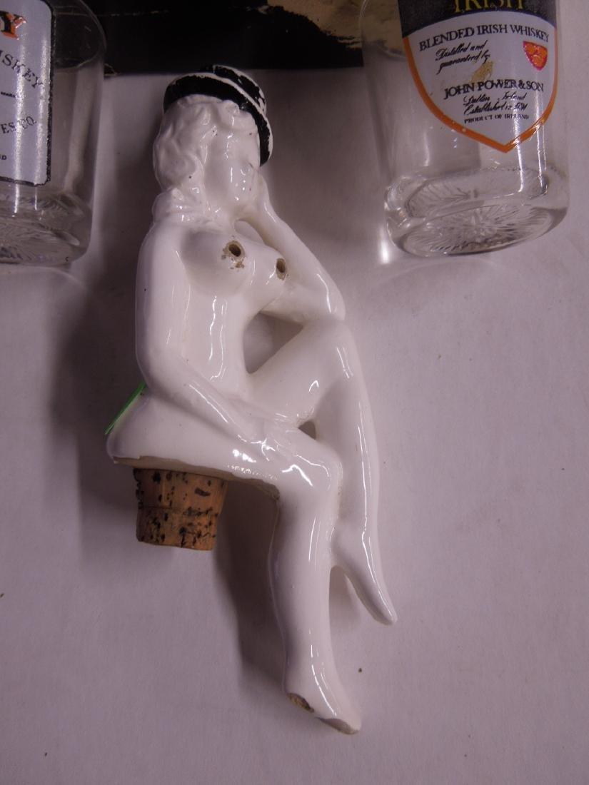 Naked Lady Liquor Top & Set of Shot Glasses - 2