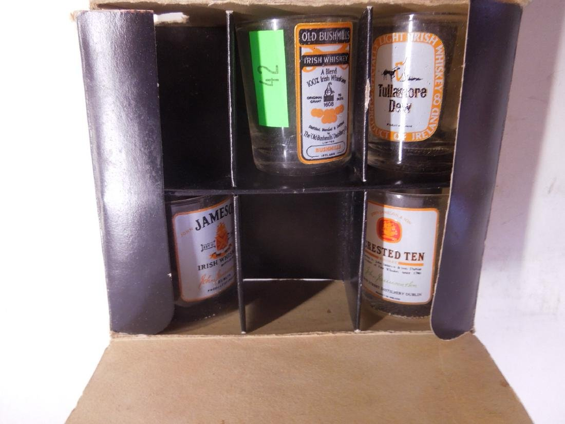 Naked Lady Liquor Top & Set of Shot Glasses - 3