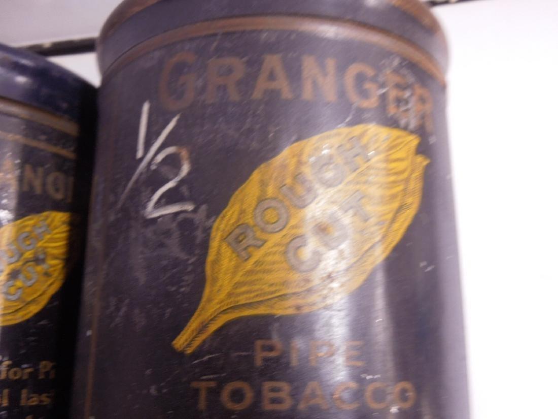 4 Vintage Granger Pipe Tobacco Tins - 6