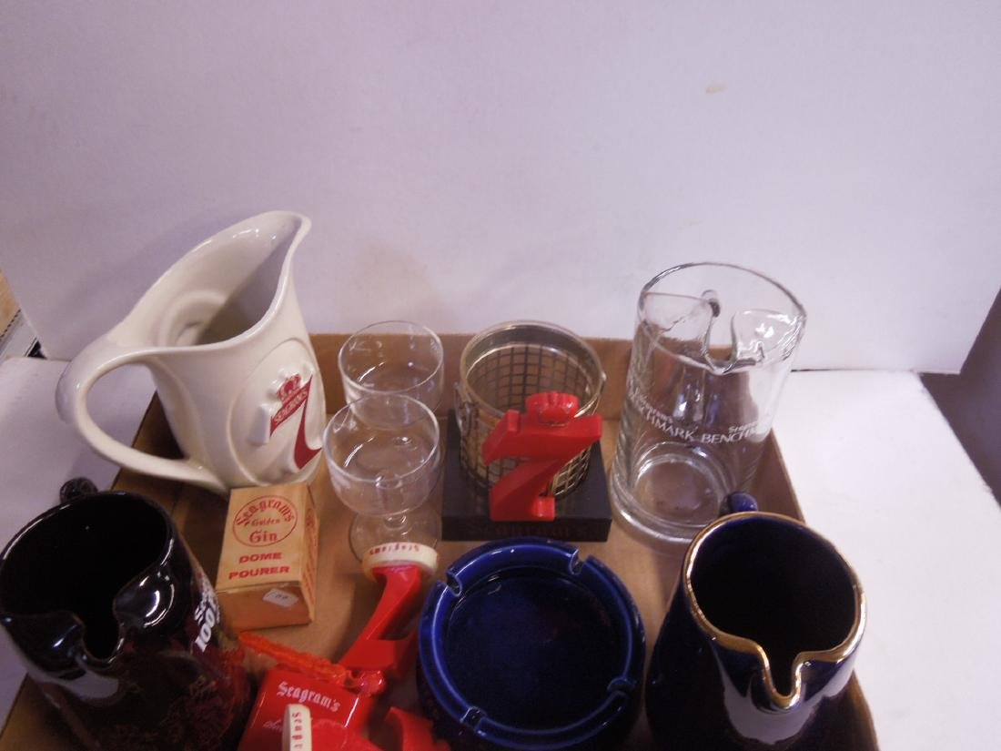 Lot Assorted Seagram's Advertising Collectibles - 2