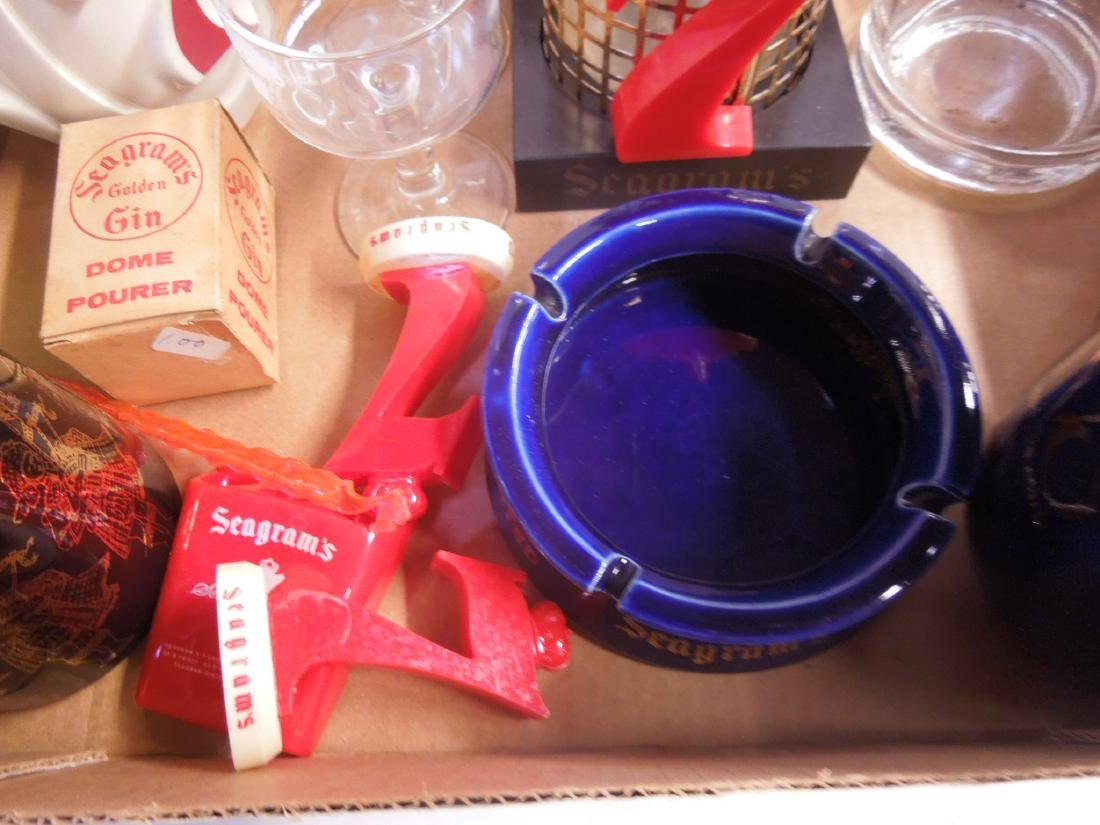 Lot Assorted Seagram's Advertising Collectibles - 3