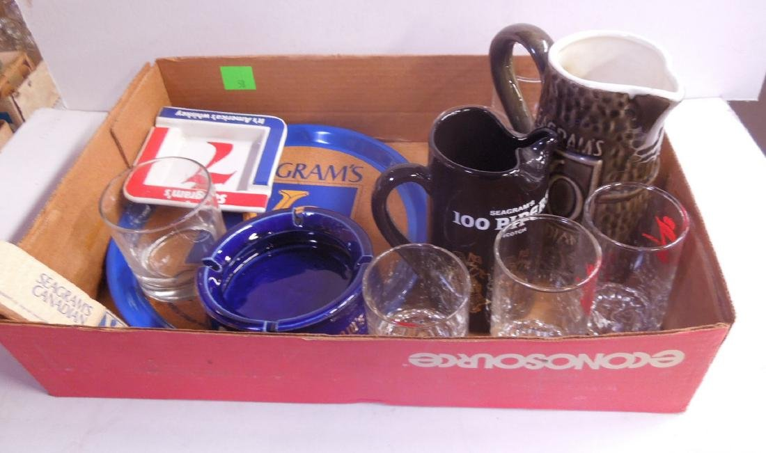 Lot Seagram's Advertising Collectibles
