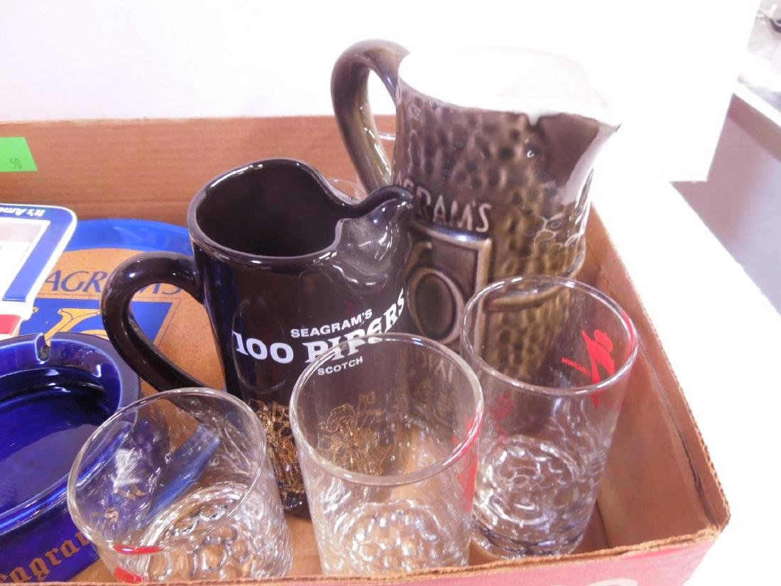 Lot Seagram's Advertising Collectibles - 2