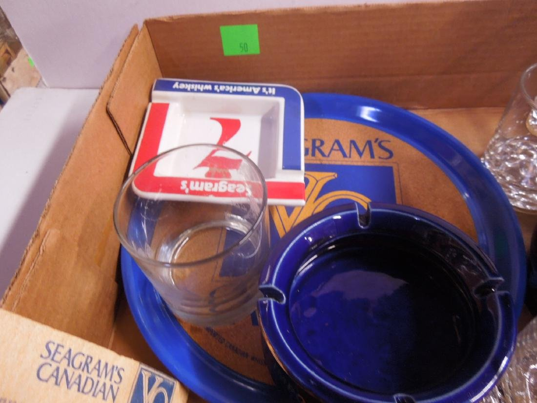 Lot Seagram's Advertising Collectibles - 3