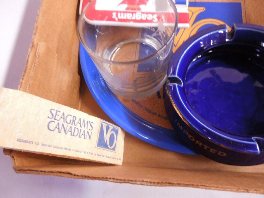 Lot Seagram's Advertising Collectibles - 5