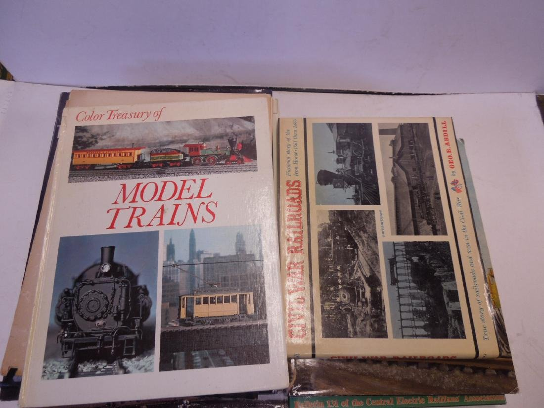 Lot hardback Railroad Books - 3