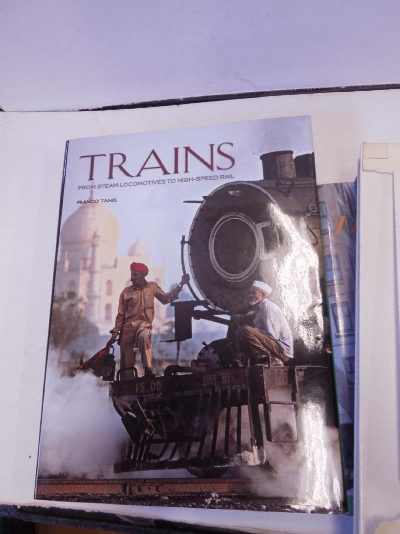 Lot hardback Railroad Books - 6