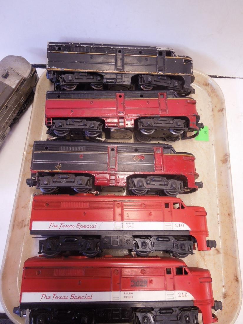 Lionel Train Engines & Dummy Cars - 2