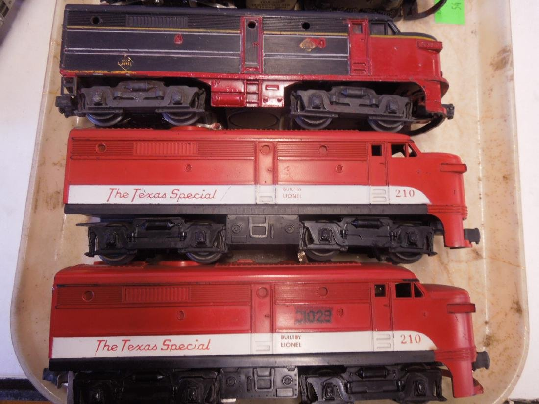 Lionel Train Engines & Dummy Cars - 3