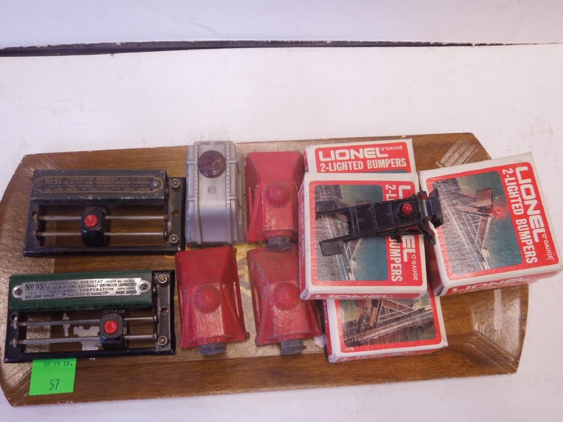 Lot Lionel Train Track Accessories