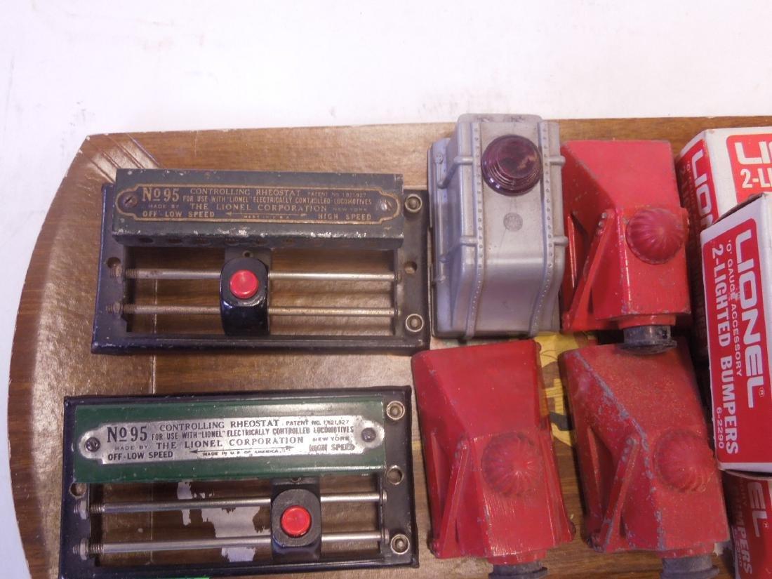 Lot Lionel Train Track Accessories - 2