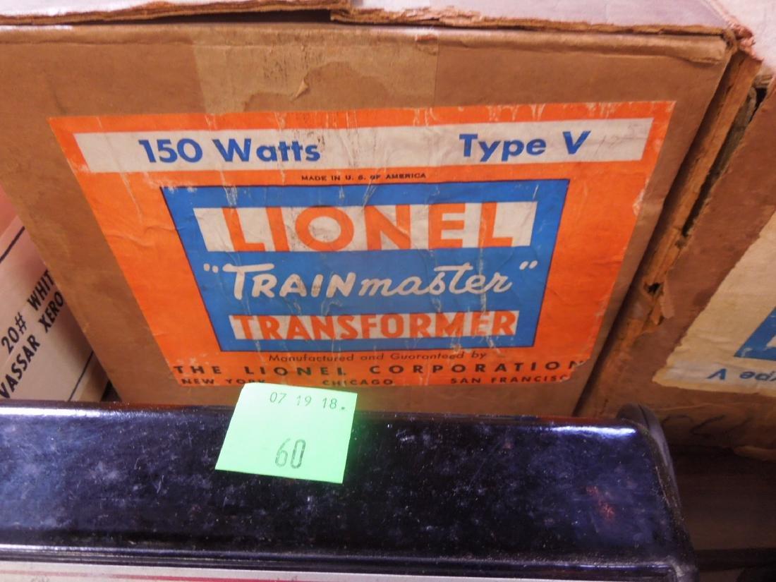 2 Train Master Lionel Transformers w/Boxes - 4