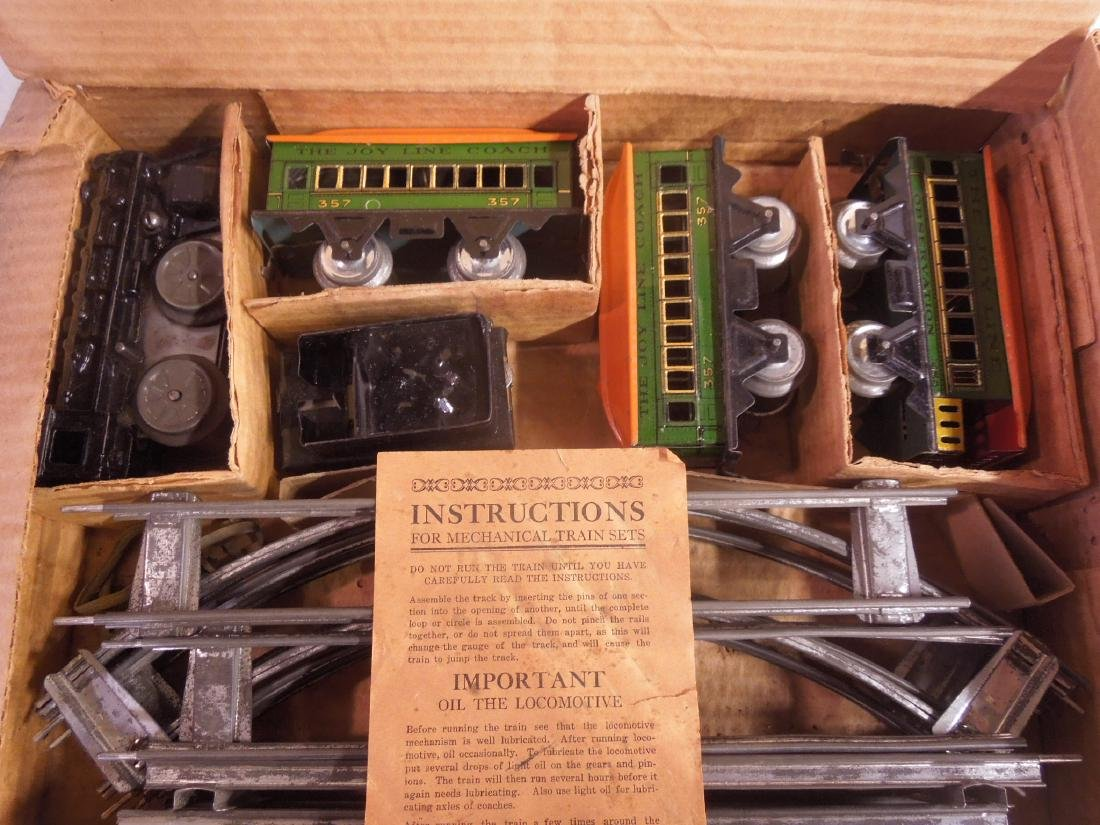 Vintage Joy Line Mechanical Train