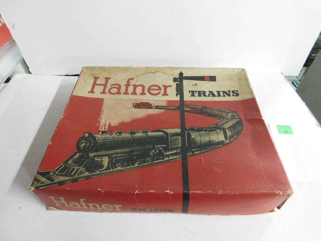 Vintage Hafner Tin Windup Train Set