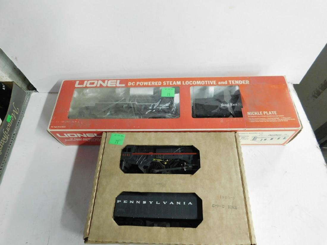 2 Lionel Engine & Tenders in Original Boxes