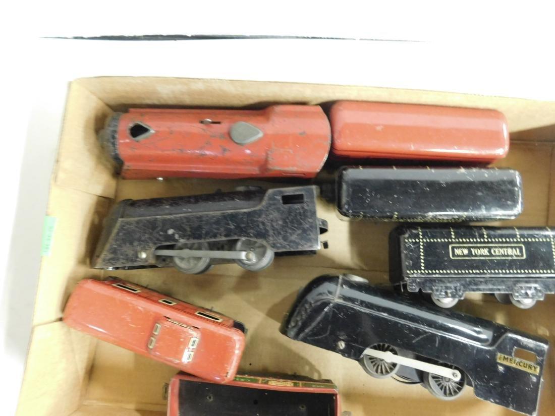 Vintage Marx Locomotives & Train Cars