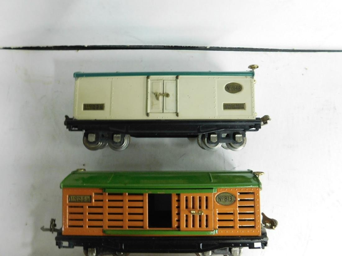 "3 Lionel Prewar ""O"" Gauge Train Cars - 2"