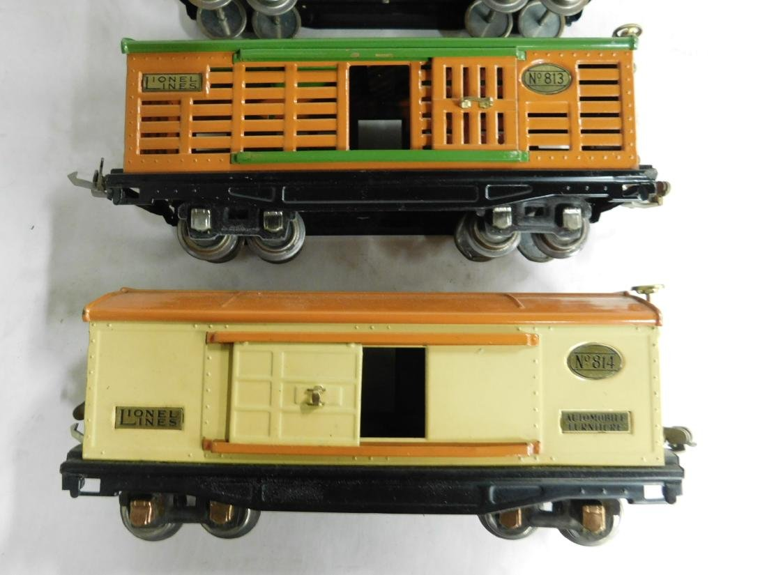 "3 Lionel Prewar ""O"" Gauge Train Cars - 3"