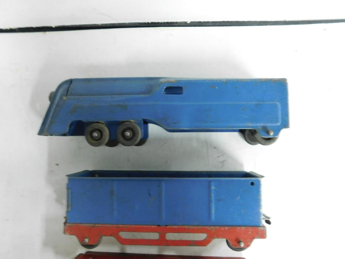 3 Piece Tin Toy Train Set - 2
