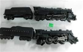2 Postwar Lionel Steam Engine & Tender