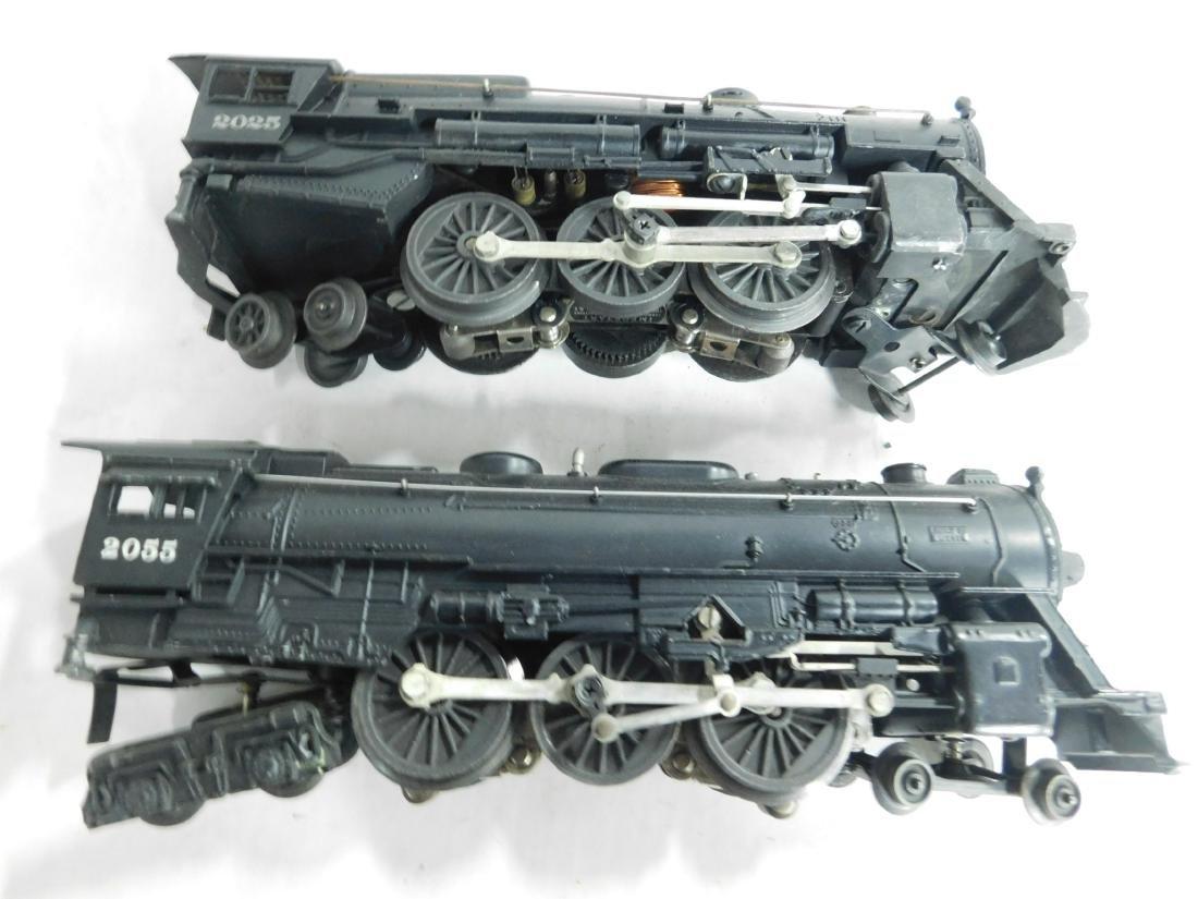 2 Postwar Lionel Postwar Train Engines