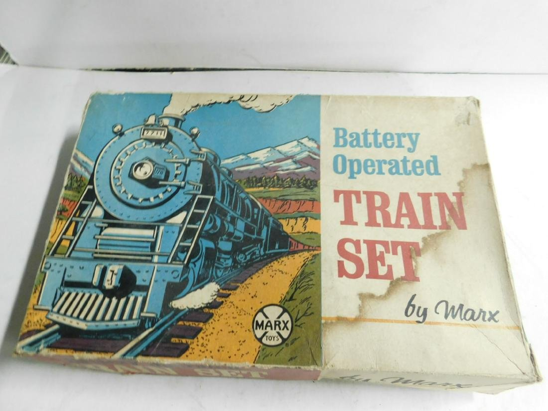 Vintage Marx Battery Operated Train Set - 4