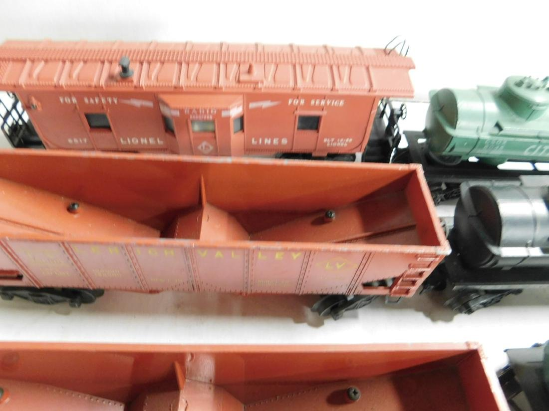 Lot Assorted Lionel Train Cars - 5