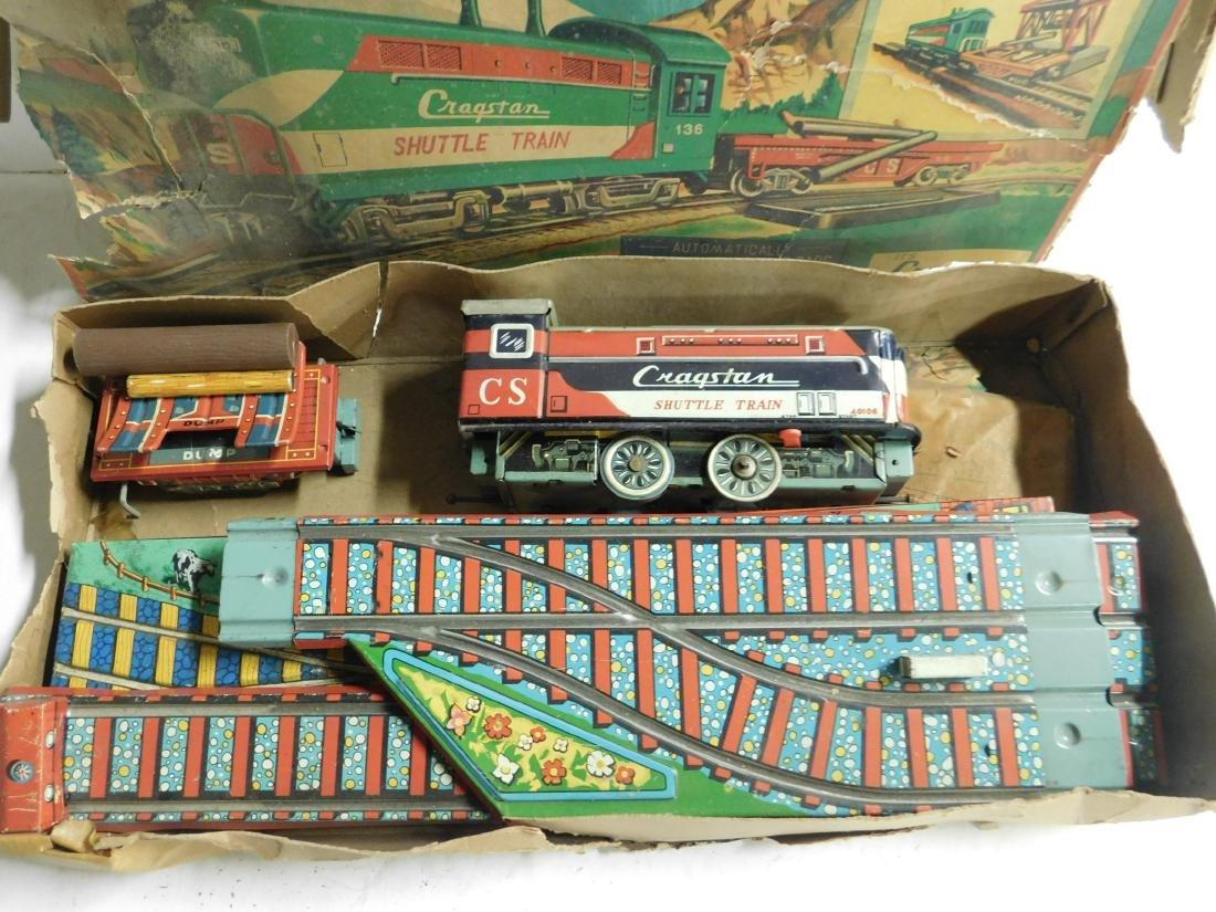 Vintage Cragstan Battery Train Set