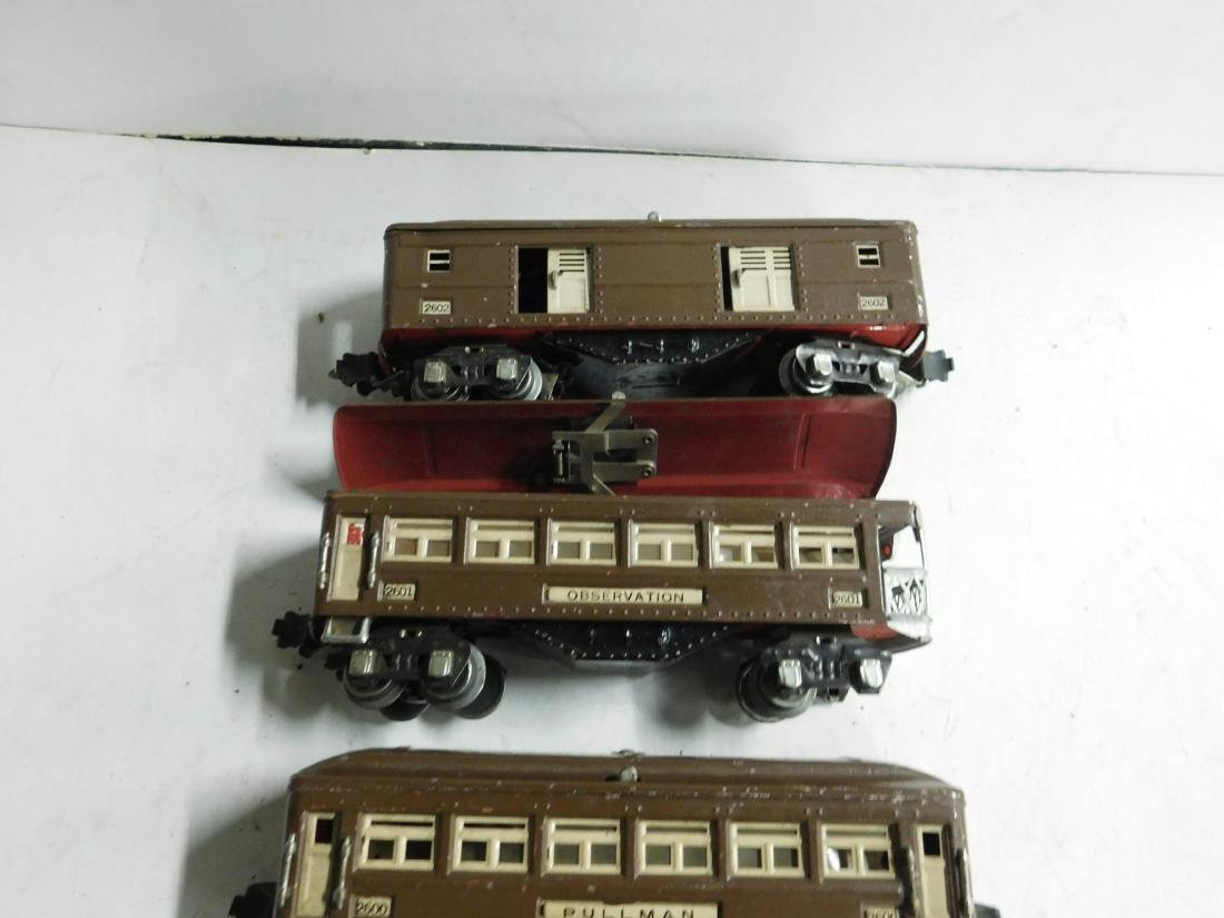 3 Lionel Prewar Train Cars