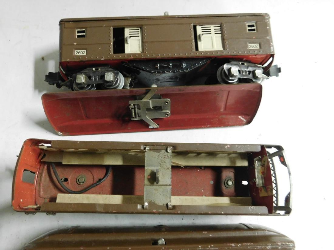3 Lionel Prewar Train Cars - 4