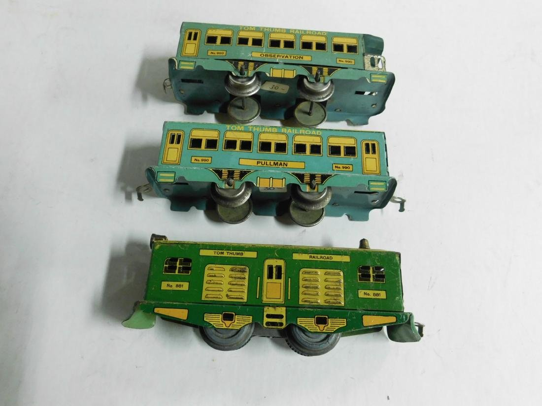 Vintage Tom Thumb Railroad Train Set