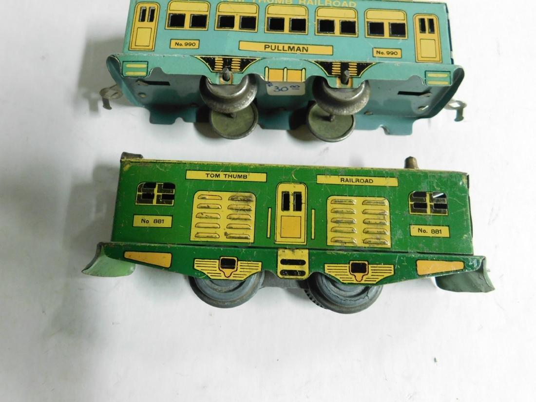 Vintage Tom Thumb Railroad Train Set - 2