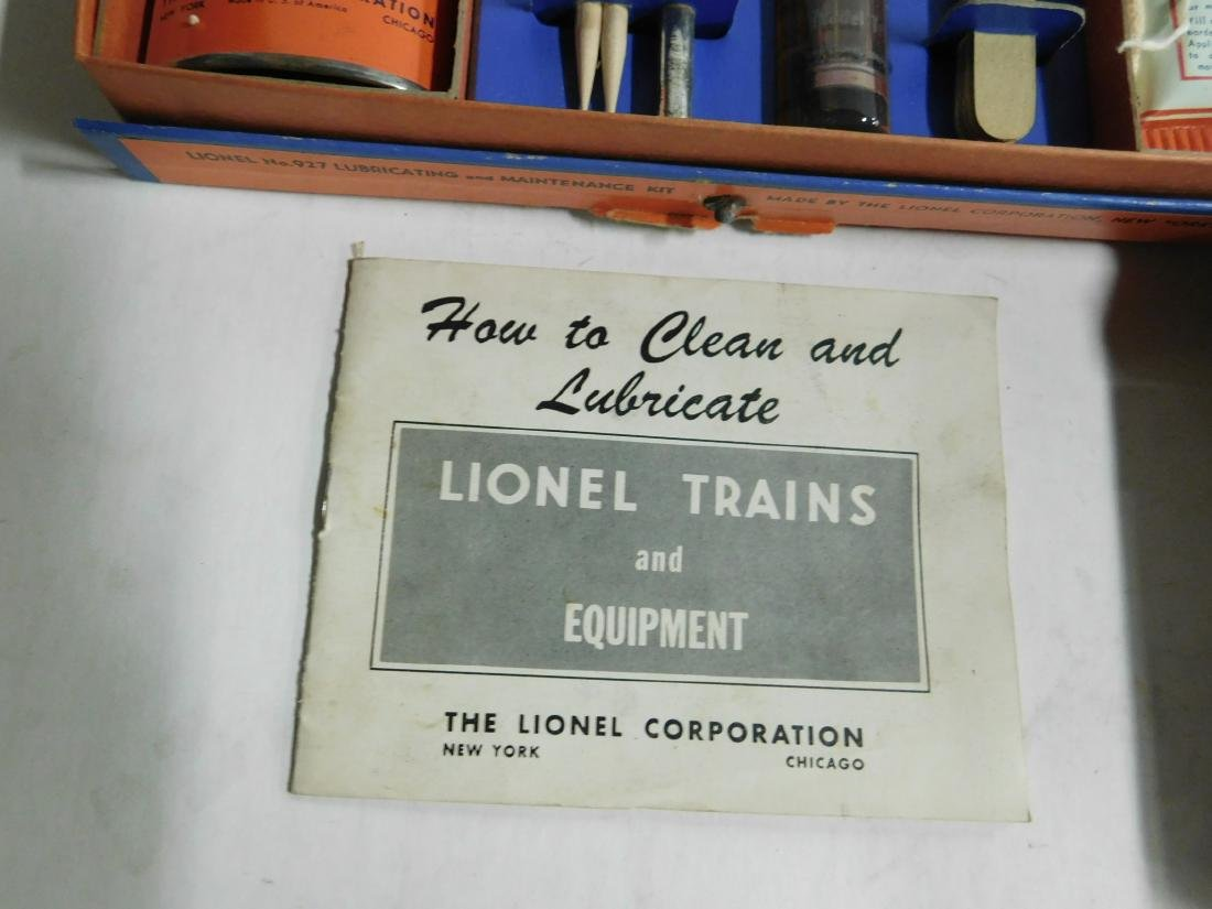 Lionel Postwar Lube & Maintenance Kit - 7