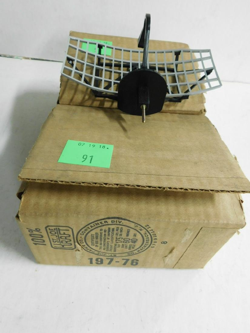 2 Vintage Lionel Radar Heads in Boxes - 2