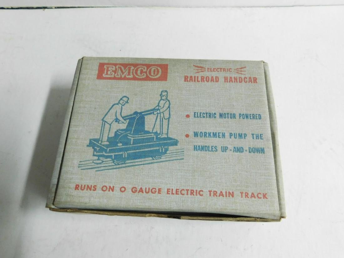 "Dinkyville ""Electric"" Railroad Hand Car in Box"