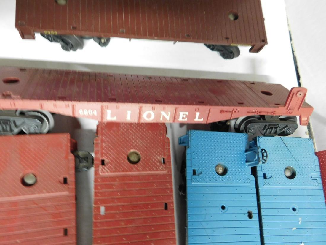 12 Lionel Flatcars - 4