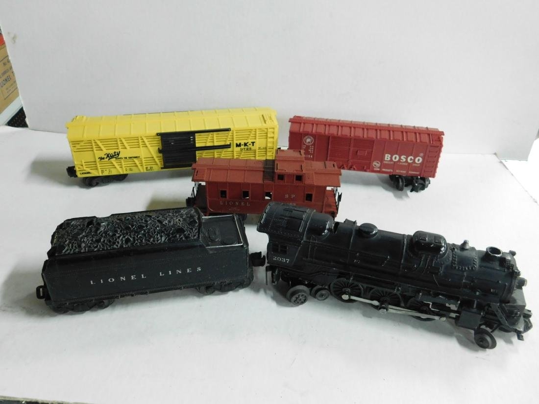 "Lionel ""O"" Gauge Locomotive, Tender & Cars"