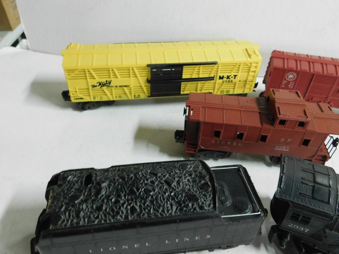 """Lionel """"O"""" Gauge Locomotive, Tender & Cars - 3"""
